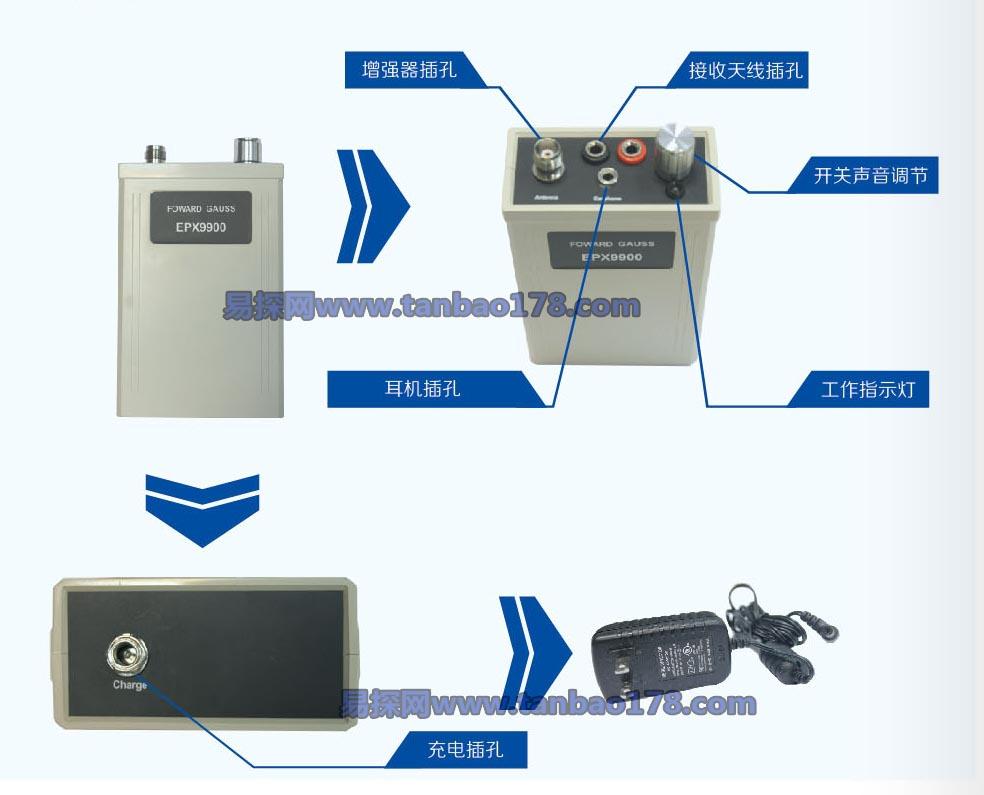 epx9900原装远程地下金属探测器